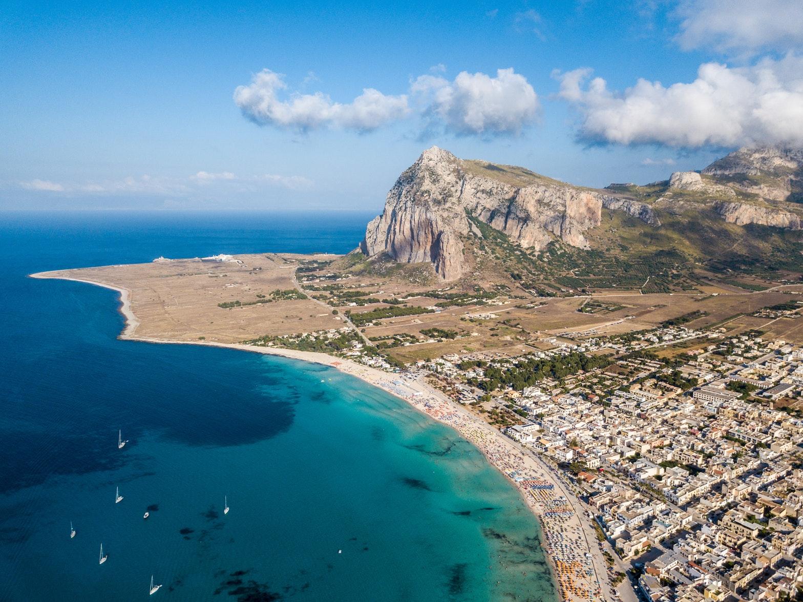 La Sicile en bord de mer